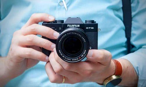 Đánh giá Fujifilm x-t10