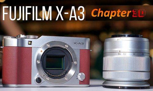 Đánh giá Fujifilm X-A3