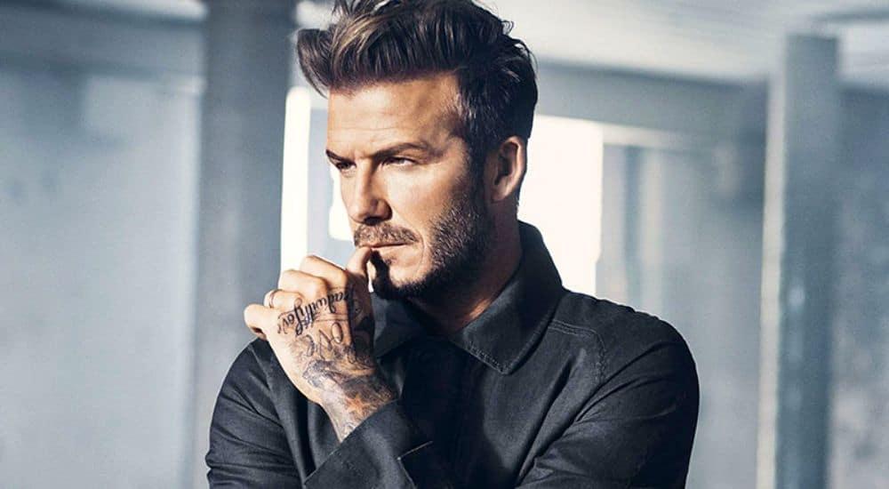 Nam cầu thủ David Beckham chụp ảnh cực đẹp