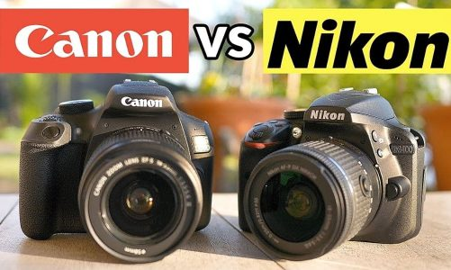 Nên mua máy ảnh Canon hay Nikon