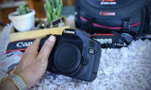 Đánh Giá Canon 40D: Review Máy Ảnh Chi Tiết