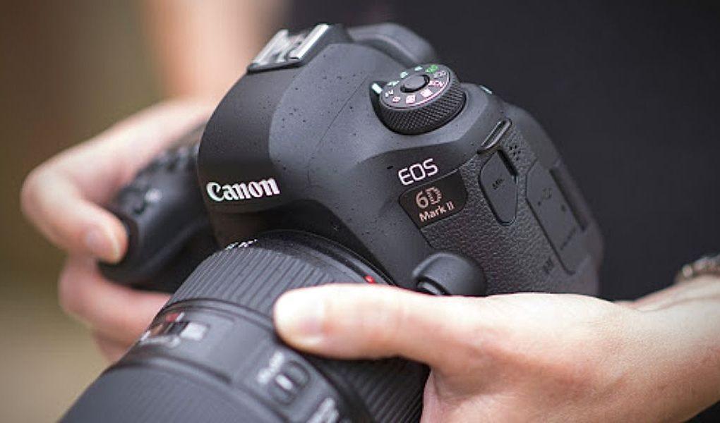đánh giá Canon 6D Mark II