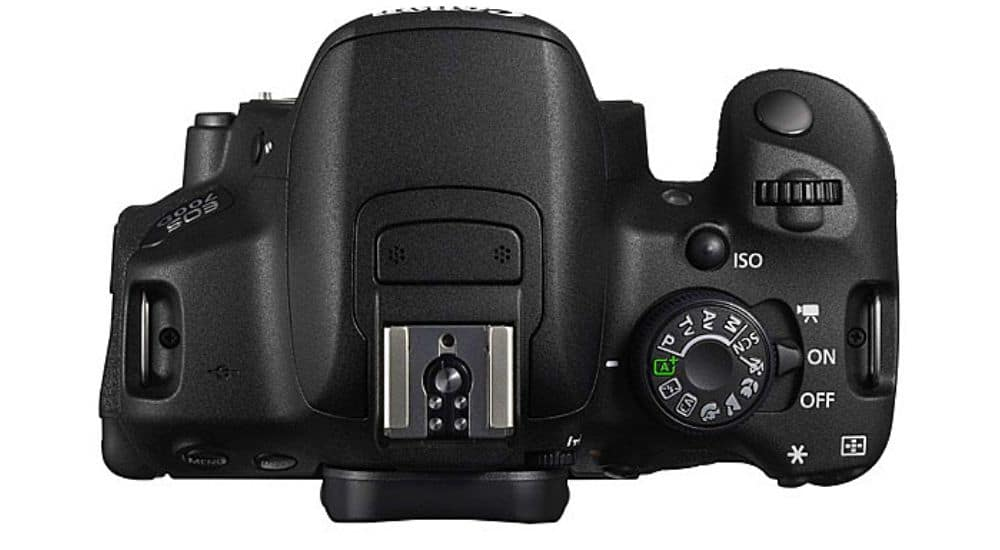 Canon EOS 700D trên