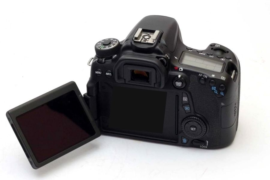 canon 70d lcd