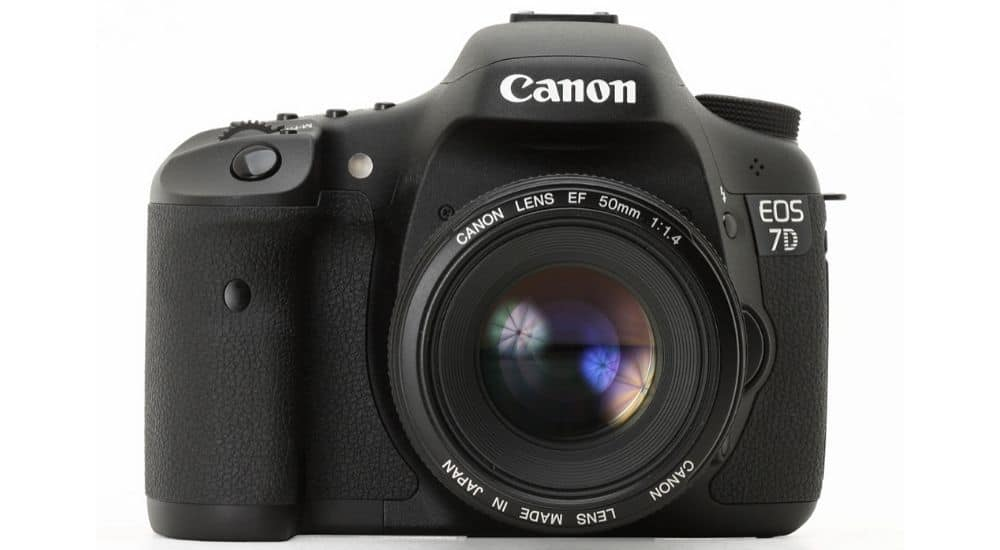 Hiệu suất canon 7d