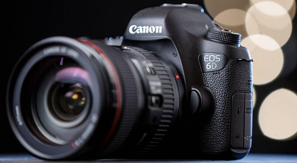 Thiết kế canon eos 6d