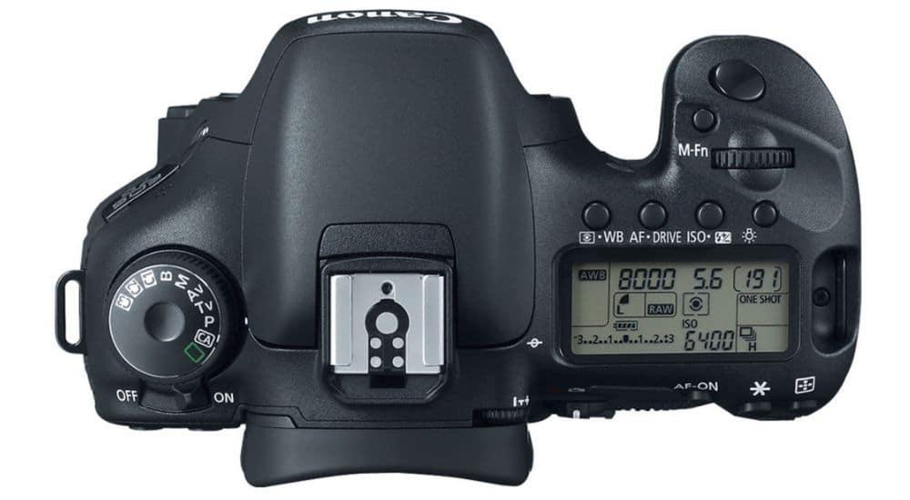 Sử dụng canon eos 7d
